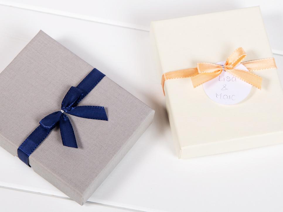 Geschenk-Schachtel für Message-Puzzles
