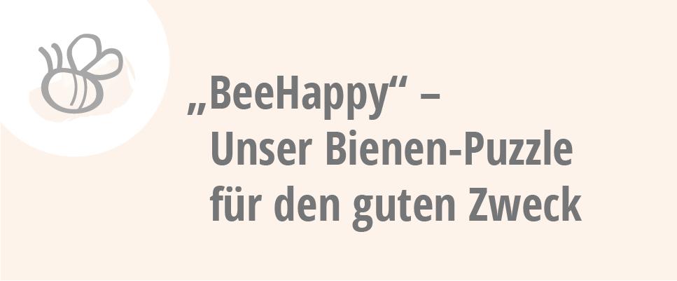 bee happy - Unser Bienen-Puzzle für den guten Zweck