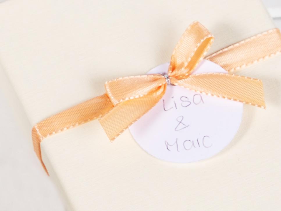 Geschenk-Anhänger für Message-Puzzles