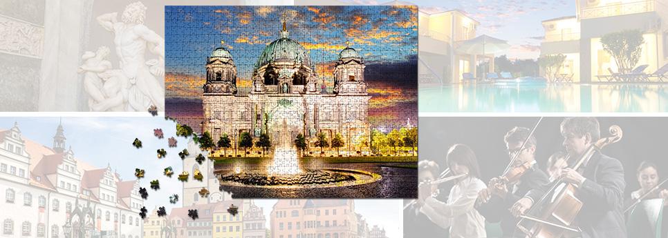 Puzzles für Kultur & Tourismus