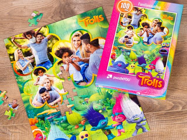 Trolls Puzzle für Kinder
