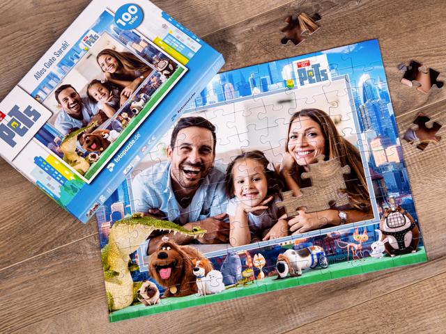 Pets Puzzle für Kinder