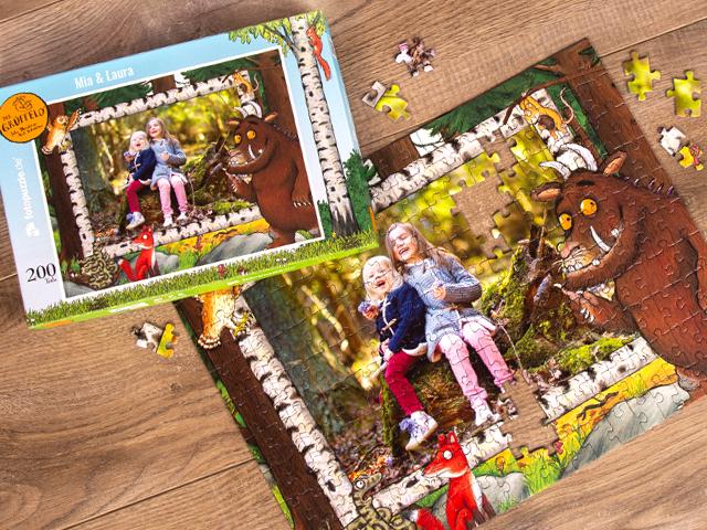 Grüffelo-Puzzle für Kinder