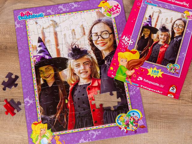 Bibi-Blocksberg-Puzzle für Kinder