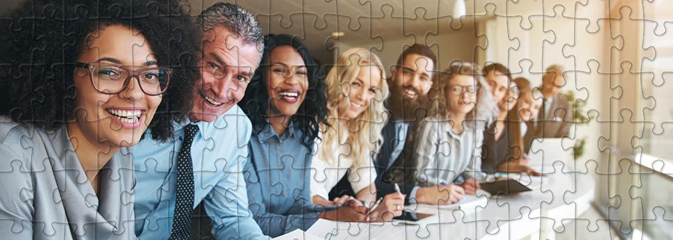Puzzles für Mitarbeiter