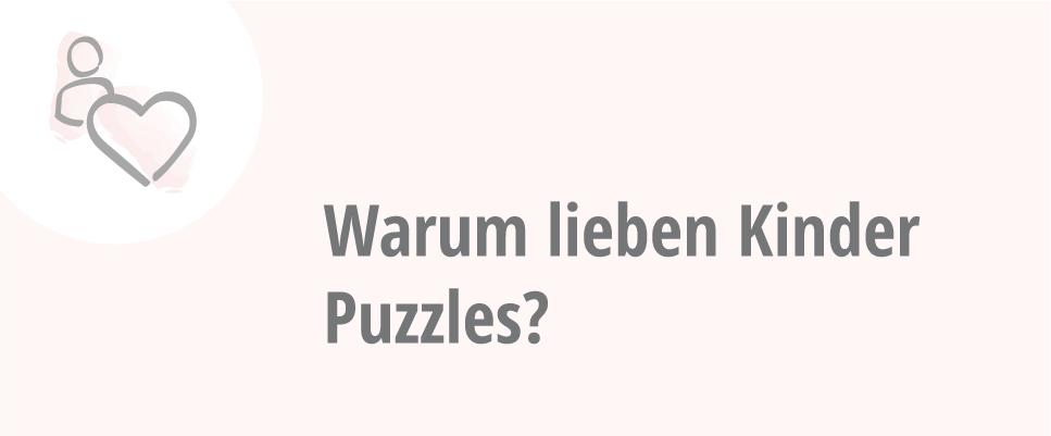 Kinder lieben Puzzles