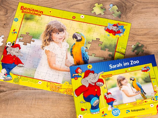Benjamin Blümchen Puzzle für Kinder