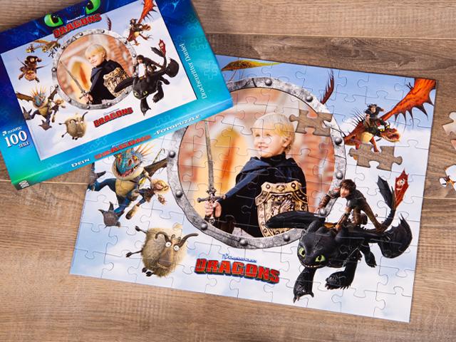 Dragons Puzzle für Kinder