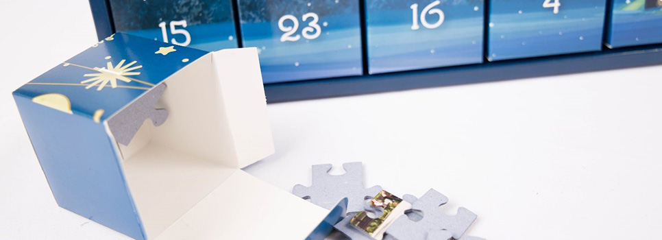 puzzle adventskalender selbst bef llen 24 kreative ideen. Black Bedroom Furniture Sets. Home Design Ideas