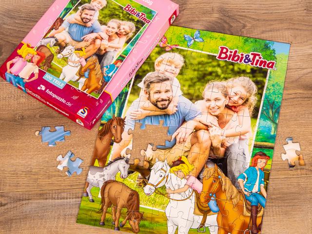 Bibi und Tina Puzzle für Kinder