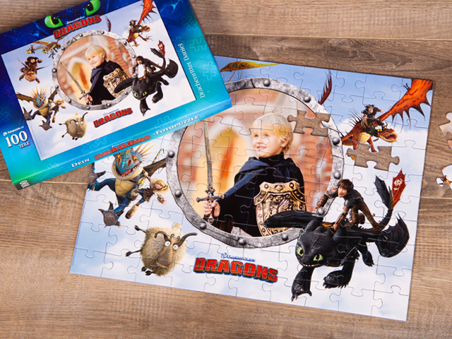 Dragons Puzzle für Kinder