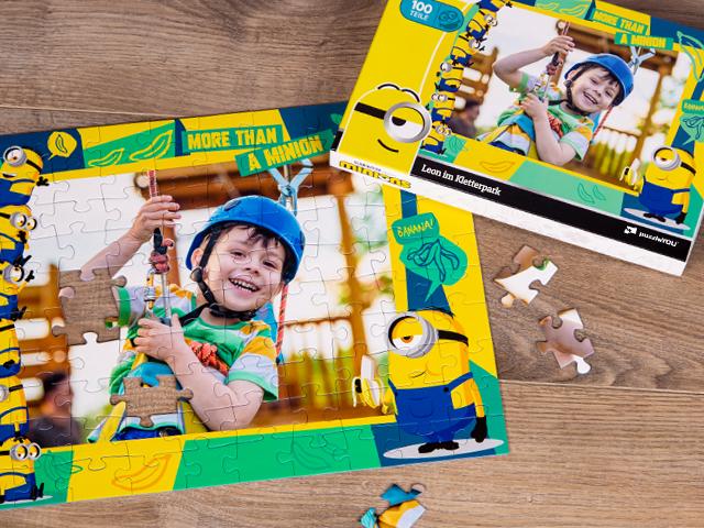 Minions Puzzle für Kinder