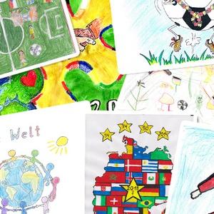 Jetzt Plätze 1 bis 10 beim Malwettbewerb zur Fußball-WM wählen