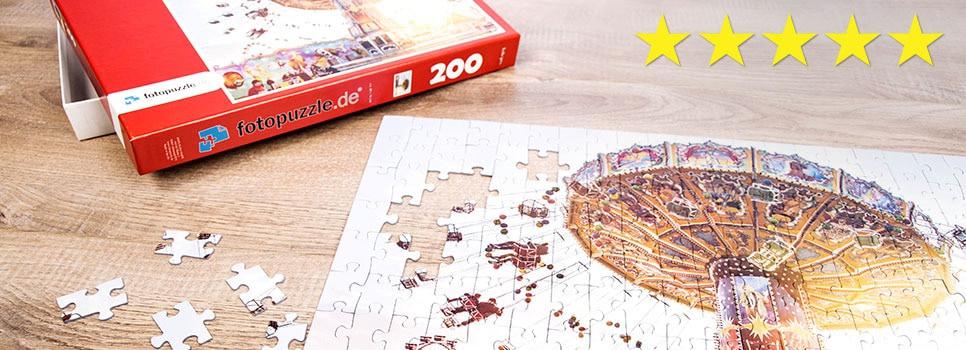 Fotopuzzle-Anbieter im Vergleich: Top-Bewertung für fotopuzzle.de