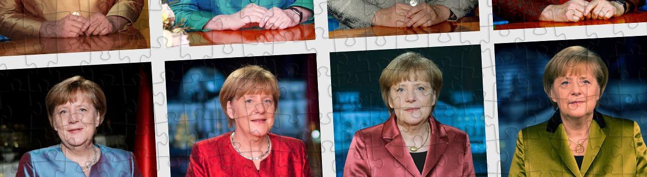 Goodbye Merkel – Das Abschiedspuzzle für unsere Kanzlerin
