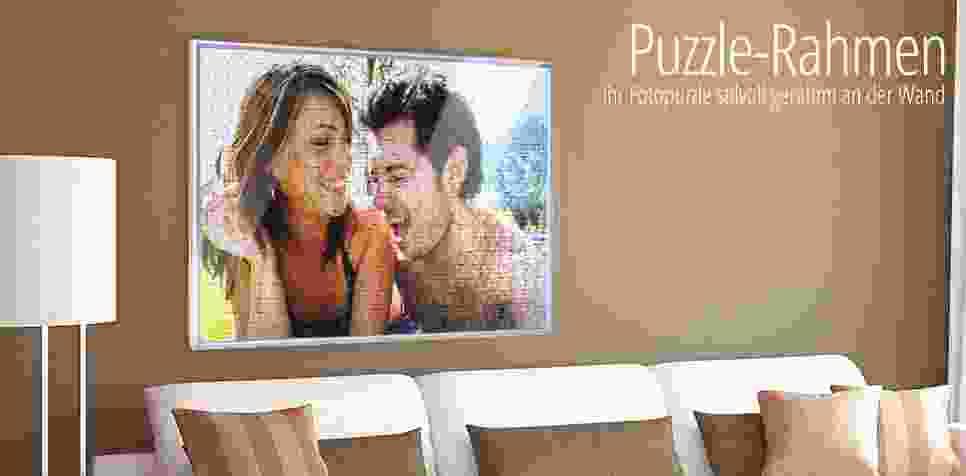 Der passende Rahmen für Ihr Fotopuzzle