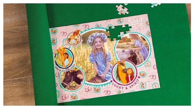 Puzzle-Matte für Spirit-Kinderpuzzles
