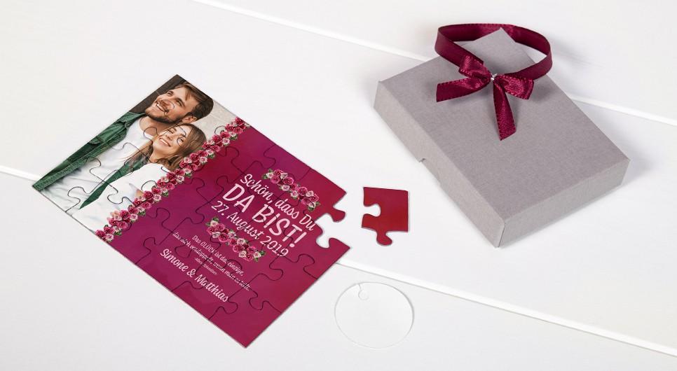 Gastgeschenk Hochzeit - Muster-Set