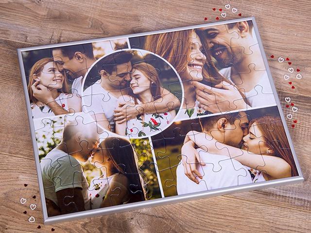Puzzle-Rahmen für das Fotopuzzle