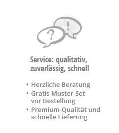 Service: qualitativ, zuverlässig, schnell