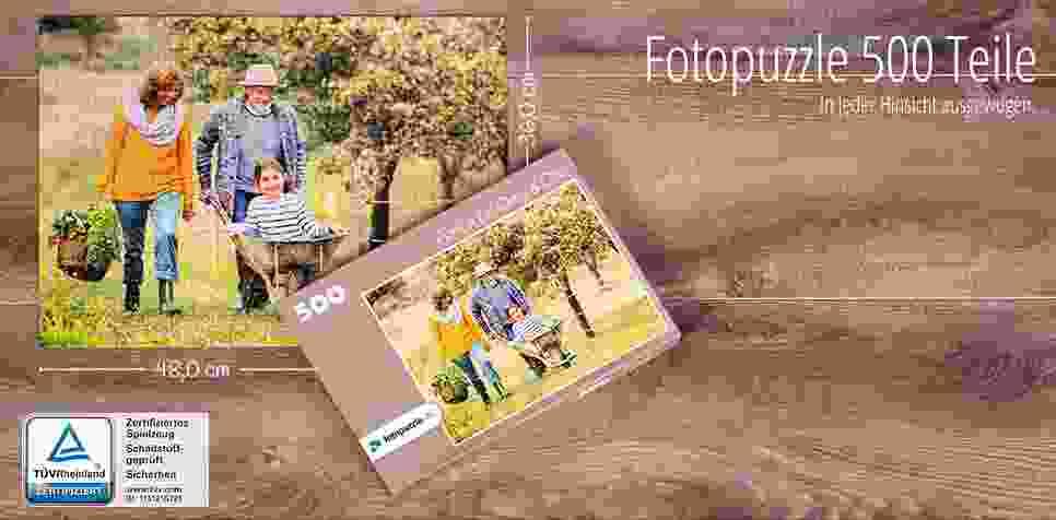 500 Teile Fotopuzzle
