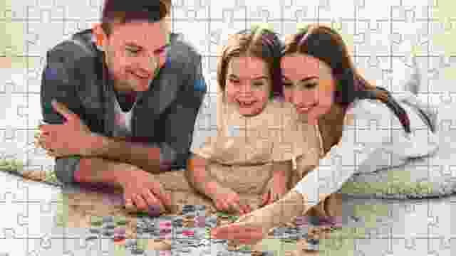 Puzzeln garantiert gemeinsame Zeit