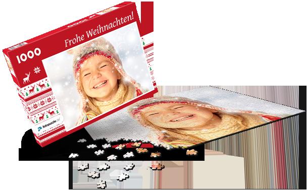 Puzzle-Schachtel Weihnachten IV