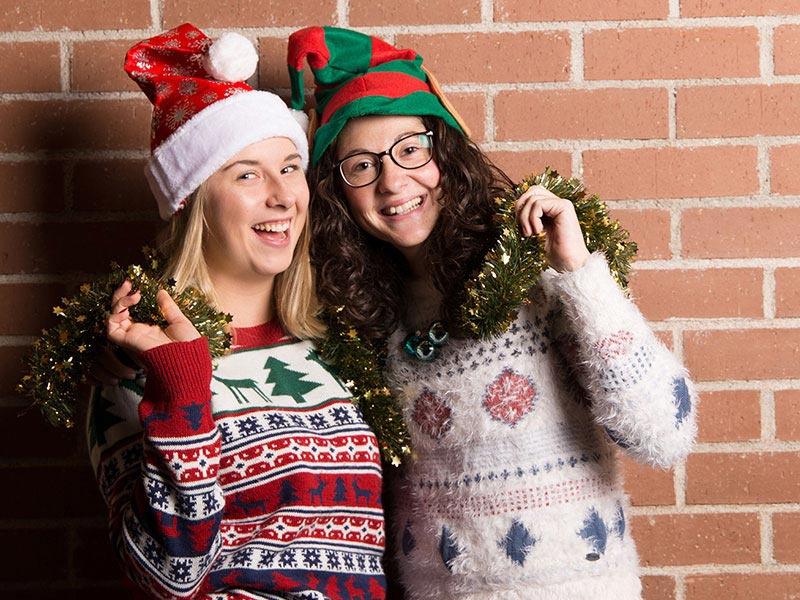 Weihnachtselfen von Fotopuzzle.de