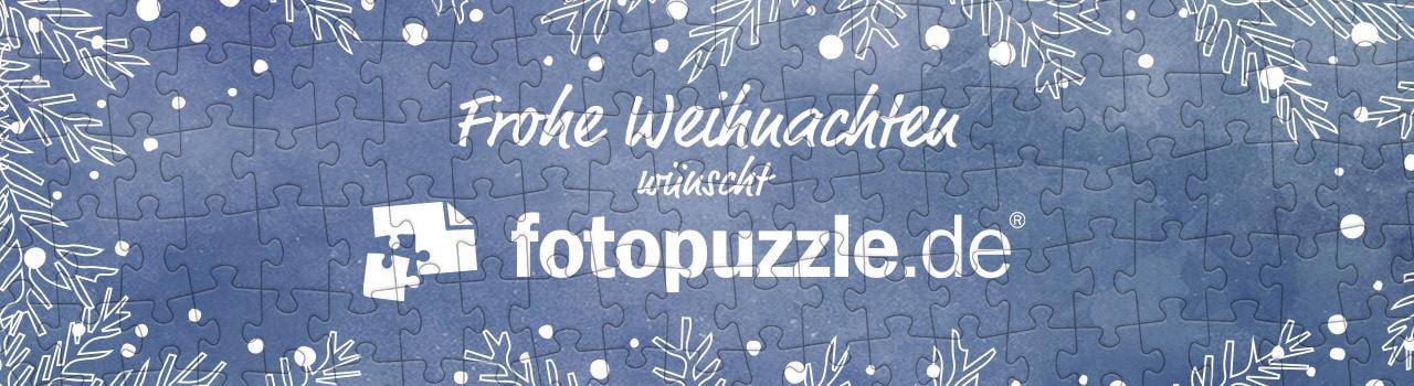 Weihnachtsgrüße von fotopuzzle.de