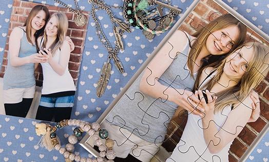 Rahmen für Puzzle Muttertag