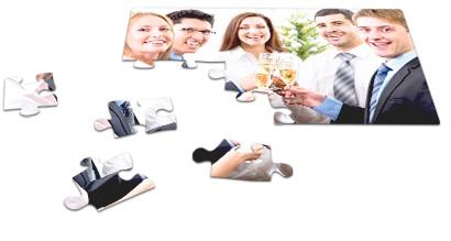 Fotopuzzle 24 Teile für Firmen