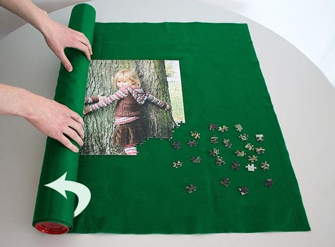 Puzzle-Matte weiterpuzzeln