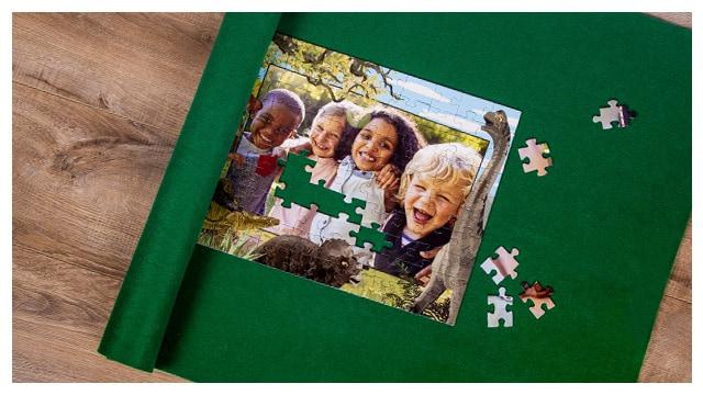 Puzzle-Matte für Dinosaurier-Puzzles