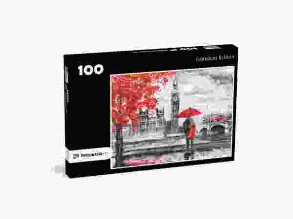 Big Ben Zeichnung 100 Teile Puzzle