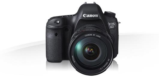 Kamera zum Drehen - Canon EOS-6D