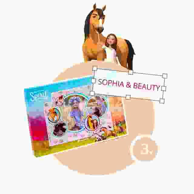 Spirit-Kinderpuzzle gestalten - Schritt 3
