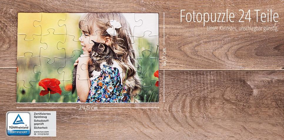 24 Teile Fotopuzzle