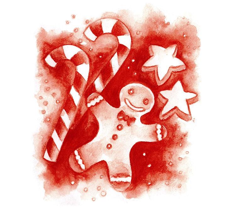 Persönliche Grußkarten zu Weihnachten als Puzzle