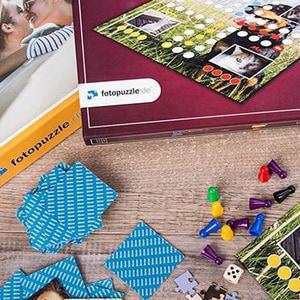 Lieferzeitverkürzung für Fotopuzzles & Spiele