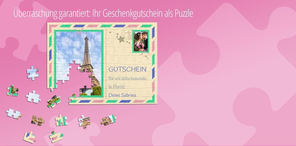 Puzzle-Gutschein