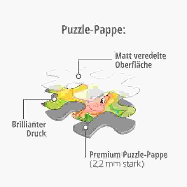 Puzzle-Pappe Kinderpuzzles