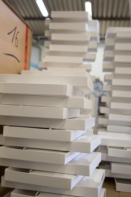 Vorgefertigte Schachtel-Unterteile für Puzzles und Spiele