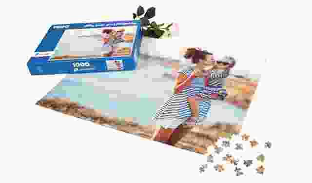 Fotopuzzle als Geschenk zum Muttertag