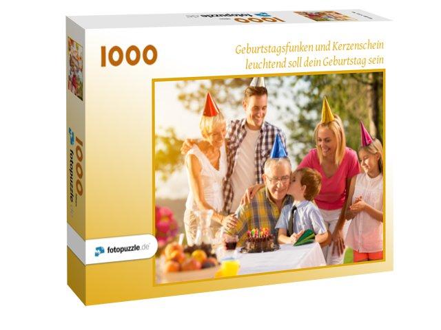 Fotopuzzle als Geschenk für Opa