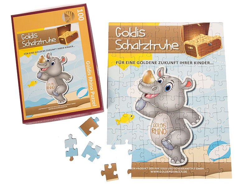 Werbepuzzle: Giveaway Rhino Goldkonto