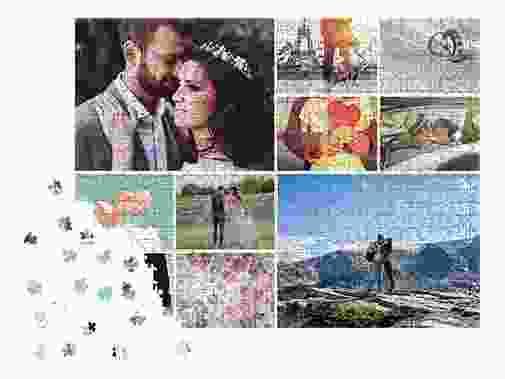 Fotogeschenk Fotopuzzle-Collage