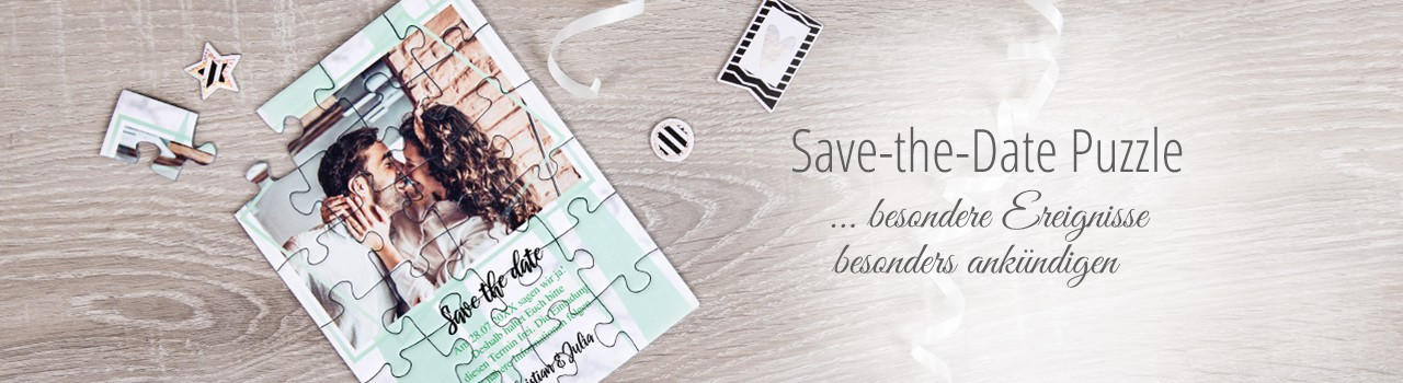 Save-the-Date Puzzles