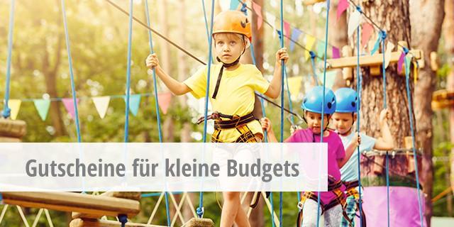 Gutscheine kleines Budget