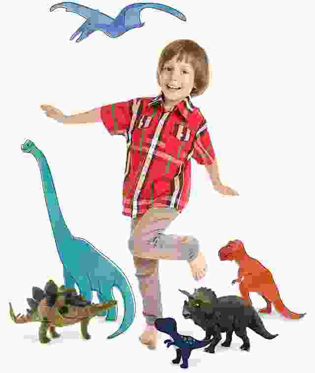 Ihr Dinosaurier-Puzzle mit eigenen Fotos