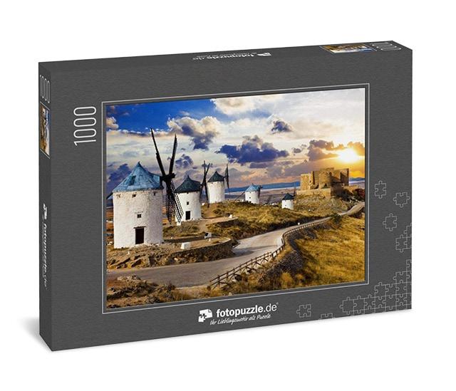 Puzzle Windmühlen von Don Quixote Spanien